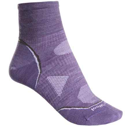 SmartWool Outdoor Ultralight Mini Socks - Merino Wool, Ankle (For Women) in Lavender - Closeouts