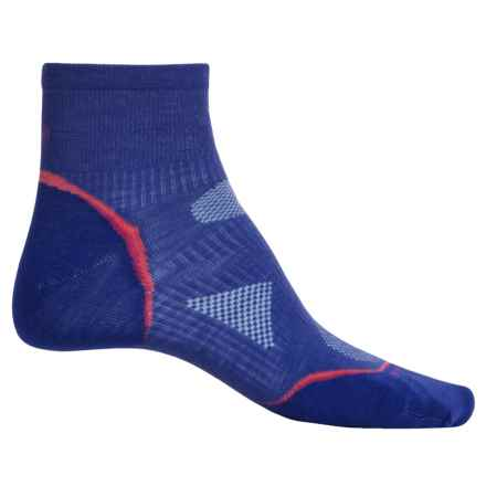 SmartWool Outdoor Ultralight Mini Socks - Merino Wool, Ankle (For Women) in Liberty - Closeouts