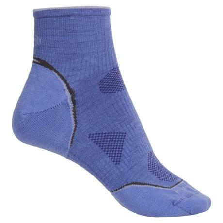 SmartWool Outdoor Ultralight Mini Socks - Merino Wool, Ankle (For Women) in Polar Purple