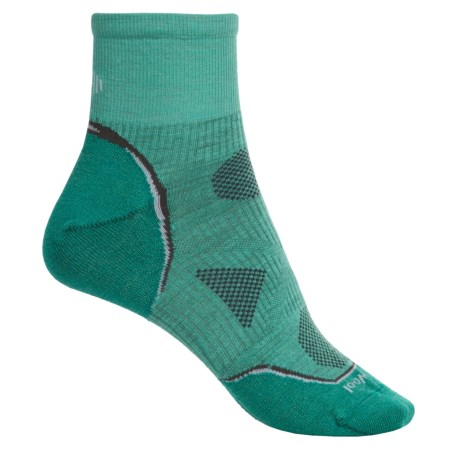 SmartWool Outdoor Ultralight Mini Socks - Merino Wool, Ankle (For Women) in Spearmint