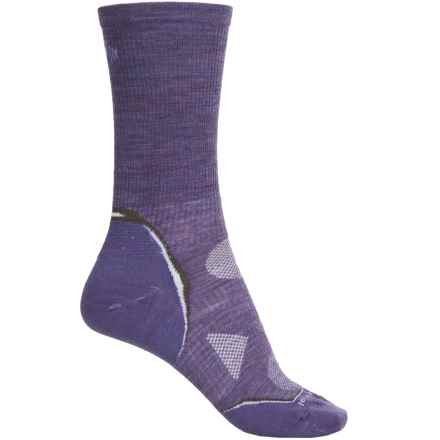 SmartWool Outdoor Ultralight Socks - Merino Wool, Crew (For Women) in Lavender - Closeouts