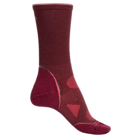 SmartWool Outdoor Ultralight Socks - Merino Wool, Crew (For Women) in Mahogany