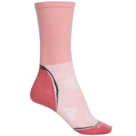 SmartWool Outdoor Ultralight Socks - Merino Wool, Crew (For Women) in Peach - Closeouts