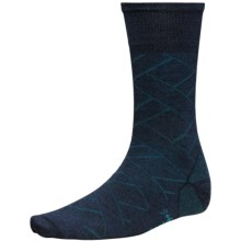 SmartWool Over Woven Crew Socks (For Men) in Deep Navy Heather - 2nds