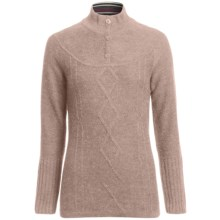 SmartWool Owl Creek Sweater - Merino Wool, Mock Neck (For Women) in Oatmeal - 2nds