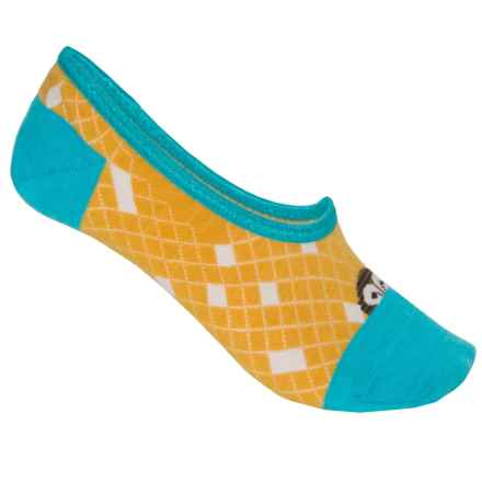 SmartWool Owl Sunglow No-Show Socks - Merino Wool, Below the Ankle (For Women) in Sunglow Heather - Closeouts