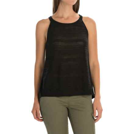 SmartWool Palisade Trail Shirt - Merino Wool, Sleeveless (For Women) in Charcoal Heather - Closeouts