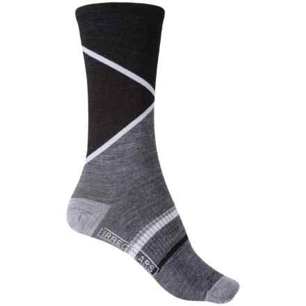 SmartWool Petoskey Socks - Merino Wool, Crew (For Women) in Medium Gray Heather - 2nds