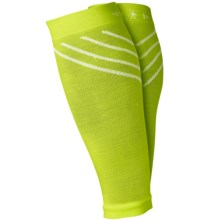 SmartWool PhD Compression Calf Sleeves - Merino Wool, Footless (For Men and Women) in Smartwool Green - 2nds