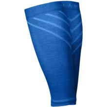 SmartWool PhD Compression Calf Sleeves - Merino Wool (For Men and Women) in Bright Blue - Closeouts