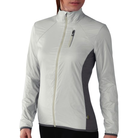 SmartWool PhD Cortina Jacket (For Women) in Natural