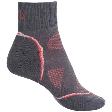 SmartWool PhD Cycle Mini Socks - Merino Wool, Ankle (For Women) in Graphite - Closeouts