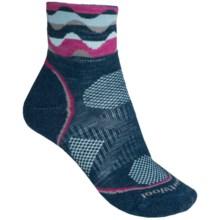 SmartWool PhD Cycle Mini Socks - Merino Wool, Lightweight (For Women) in Deep Sea - 2nds