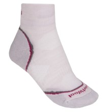 SmartWool PhD Cycle Mini Socks - Merino Wool, Lightweight (For Women) in Silver - 2nds