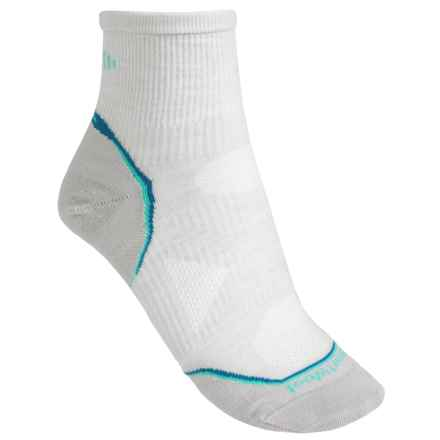 SmartWool PhD Cycle Ultra Light Mini Socks - Merino Wool (For Women) in Silver - 2nds