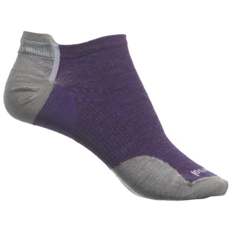 SmartWool PhD Cycle Ultralight Micro Socks - Merino Wool, Below the Ankle (For Women) in Mountain Purple