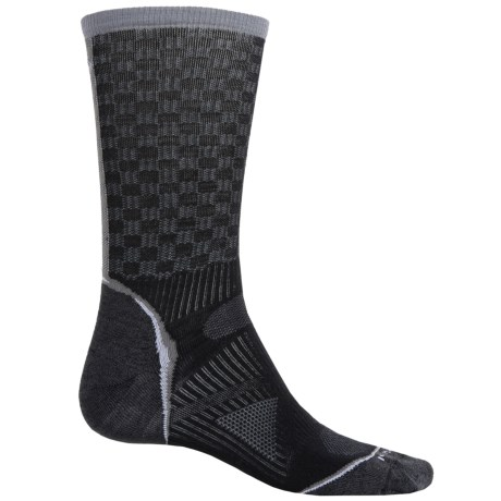 SmartWool PhD Cycle Ultralight Pattern Socks - Merino Wool, Crew (For Men and Women)