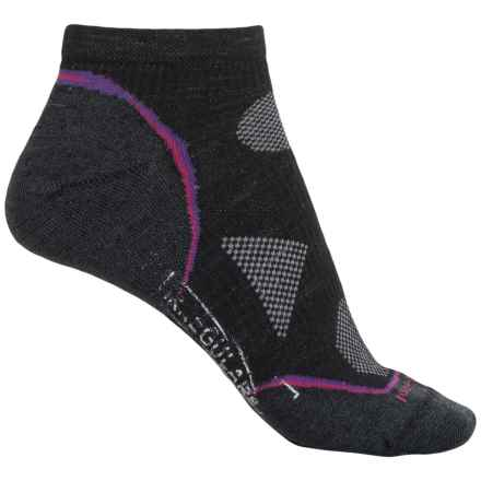 SmartWool PhD Cycle Ultralight Socks - Merino Wool, Below the Ankle (For Women) in Black - 2nds