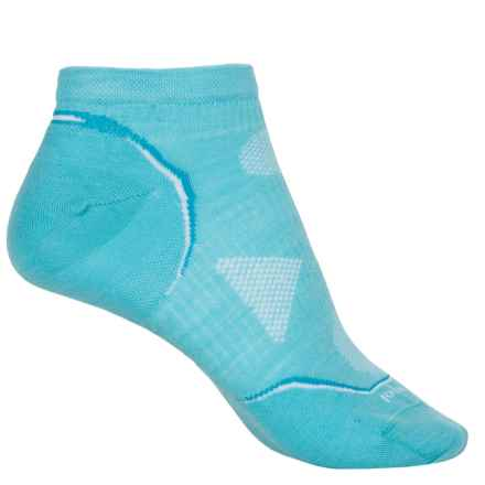 SmartWool PhD Cycle Ultralight Socks - Merino Wool, Below the Ankle (For Women) in Light Capri - 2nds