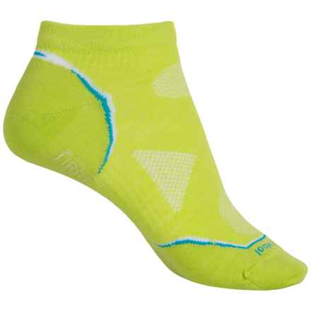 SmartWool PhD Cycle Ultralight Socks - Merino Wool, Below the Ankle (For Women) in Smartwool Green - 2nds