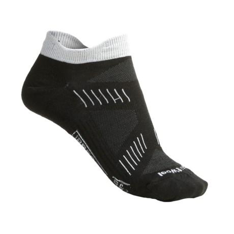 SmartWool PhD Cycling Ultra Lite Micro Socks - Merino Wool (For Women) in Black