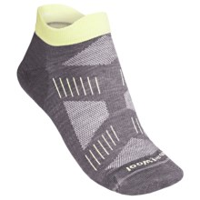 SmartWool PhD Cycling Ultra Lite Micro Socks - Merino Wool (For Women) in Graphite/Amarillo - 2nds