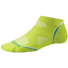 SmartWool PhD Cycling Ultralight Socks - Merino Wool, Below the Ankle (For Women) in Smartwool Green - Closeouts