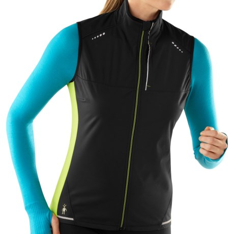 photo: Smartwool Women's PhD Run Divide Vest