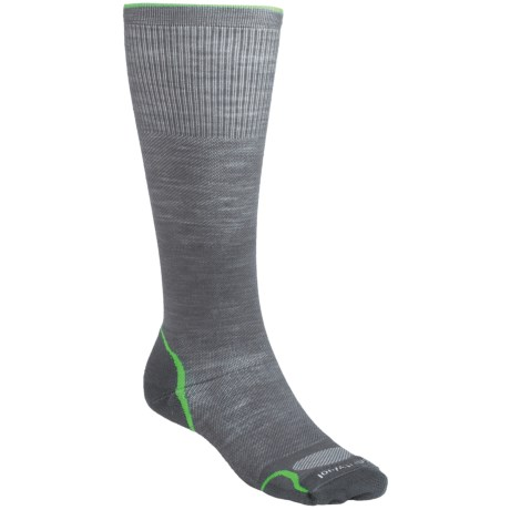 SmartWool PhD Graduated Compression Socks - Merino Wool (For Men and Women) in Black