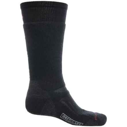SmartWool PhD Heavyweight Outdoor Socks - Merino Wool, Over the Calf (For Men and Women) in Black - 2nds