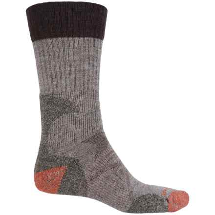 SmartWool PhD Hunt Light Socks - Merino Wool, Crew (For Men) in Taupe - 2nds
