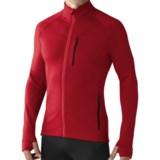 SmartWool PhD HyFi Base Layer Top - Merino Wool, Full Zip, Long Sleeve (For Men)
