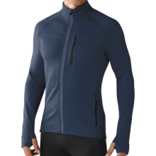 SmartWool PhD HyFi Base Layer Top - Merino Wool, Full Zip, Long Sleeve (For Men) in Deep Navy - Closeouts