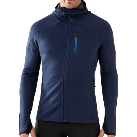 SmartWool PHD HyFi Hoodie Sweatshirt - Merino Wool (For Men) in Deep Navy