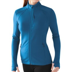 SmartWool PhD HyFi Jacket - Merino Wool (For Women) in Arctic Blue
