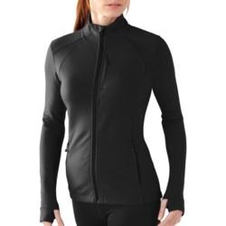 SmartWool PhD HyFi Jacket - Merino Wool (For Women) in Arctic Blue