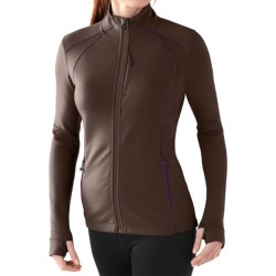 SmartWool PhD HyFi Jacket - Merino Wool (For Women) in Taupe