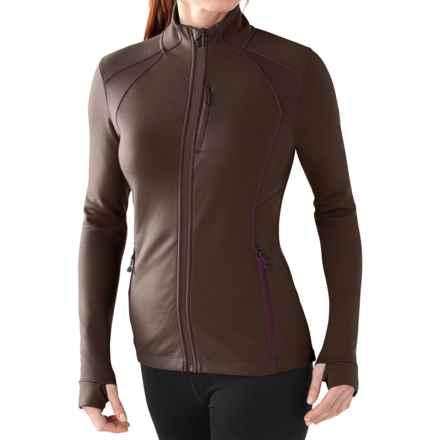 SmartWool PhD HyFi Jacket - Merino Wool (For Women) in Taupe - Closeouts