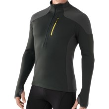 SmartWool PHD HyFi Midlayer Top - Merino Wool, Zip Neck, Long Sleeve (For Men) in Forest - Closeouts