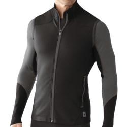 SmartWool PhD HyFi Midlayer Vest - Merino Wool (For Men) in Black