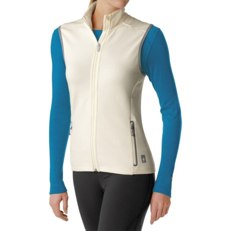 SmartWool PHD HyFi Midlayer Vest - Merino Wool (For Women) in Natural