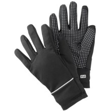 SmartWool PhD HyFi Training Gloves - Merino Wool, Touchscreen Compatible (For Men and Women) in Black/Graphite - Closeouts