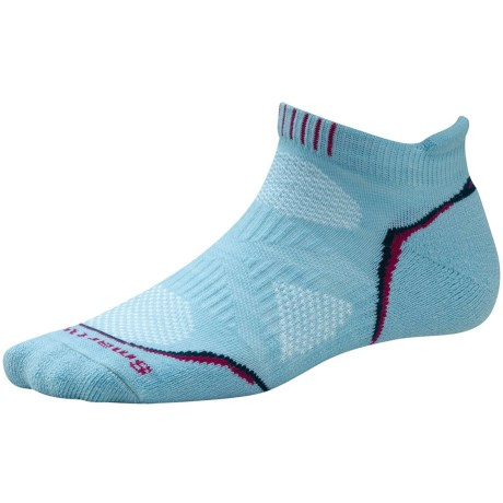 SmartWool PhD Light Micro Running Socks (For Women) in Clearwater