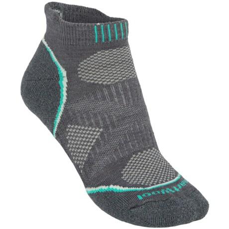 SmartWool PhD Light Micro Running Socks (For Women) in Graphite
