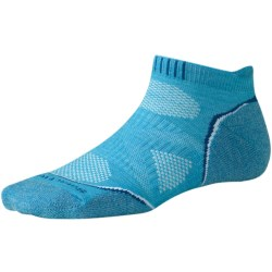 SmartWool PhD Light Micro Running Socks (For Women) in Horizon Blue