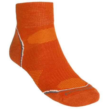 SmartWool PhD Light Mini Running Socks - Merino Wool (For Men and Women) in Orange