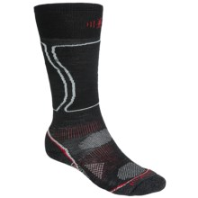 SmartWool PhD Light Snowboard Socks - Merino Wool (For Men and Women) in Black - 2nds