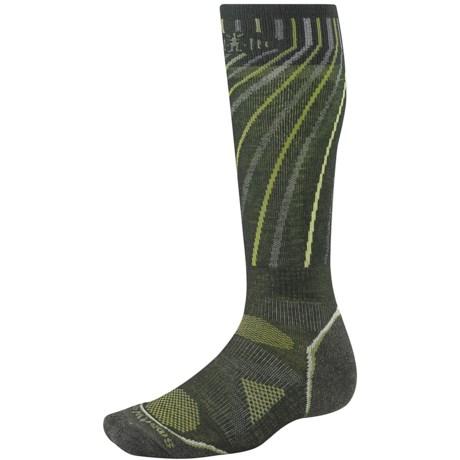 SmartWool PhD Light Snowboard Socks - Merino Wool (For Men and Women) in Forest