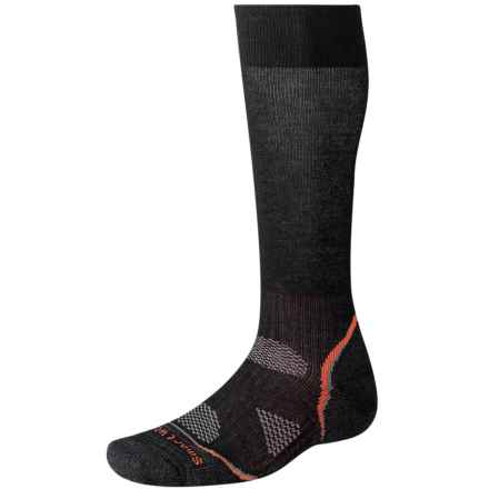 SmartWool PhD Mountaineering Socks - Merino Wool, Over the Calf (For Men and Women) in Black - 2nds