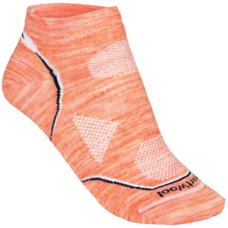 SmartWool PhD Multisport Micro Socks - Lightweight, Merino Wool (For Women) in Amarillo